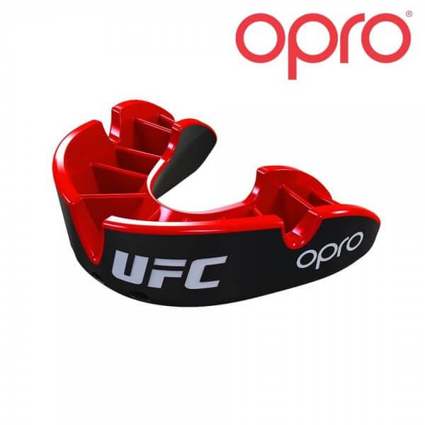 UFC MMA Mundschutz Opro rot-schwarz