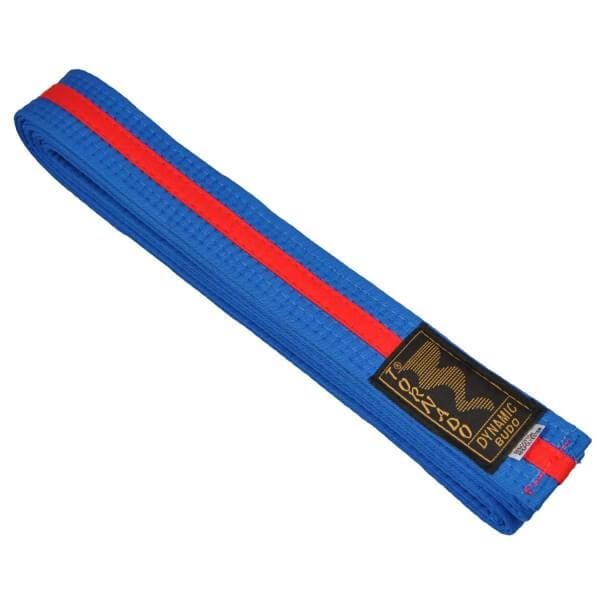 Budogürtel blau-rot 240 cm