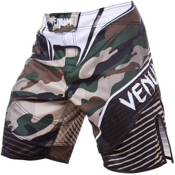 Venum Camo Hero Fight Shorts - Green/Brown S