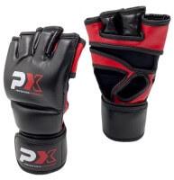 PHOENIX PROTECH MMA Handschuhe, SCHWARZ, PU