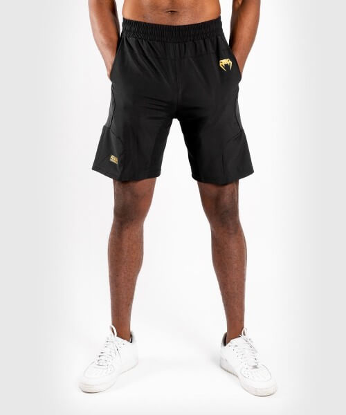 Venum G-Fit Training Shorts schwarz/gold L