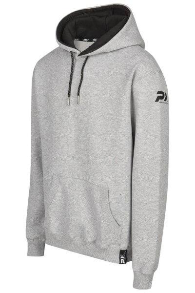 PX Hoodie Pullover grau schwarz, Gr. 116