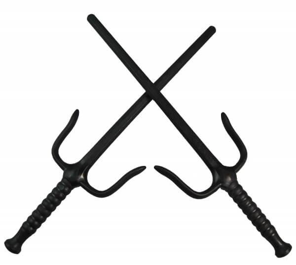 Kunststoff-Sai ca 49.5 cm schwarz paarweise