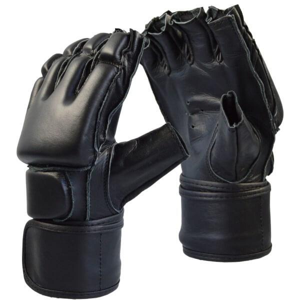 Free-Fight Handschuhe Leder Gr M