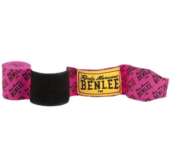 BENLEE Allover Boxbandagen Paar 3,0 m Neon-Pink