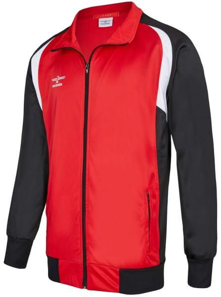 PHOENIX Trainingsanzug Jacke rot-schwarz 128