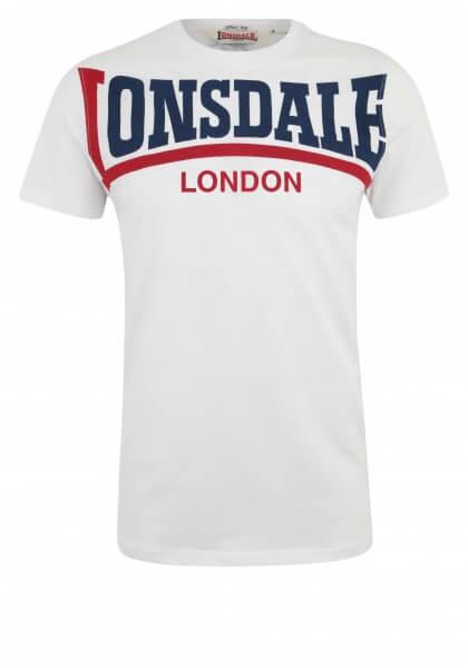 LONSDALE T-Shirt Herren Creaton White