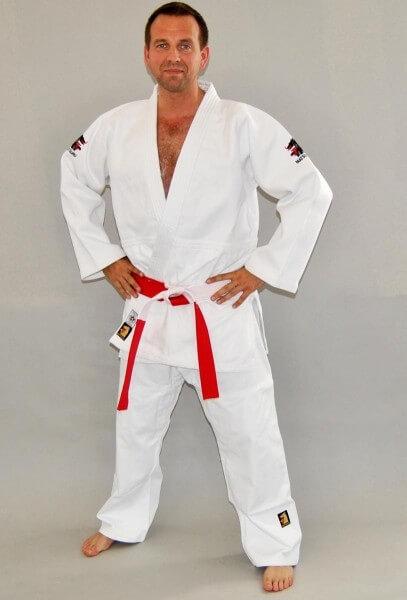 MATSURU Judo IJF 2015 MONDIAL Slim Fit weiß 160