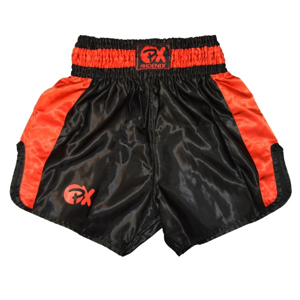 "PHOENIX Thai Shorts, ""Contender"" schw-rot XXS"