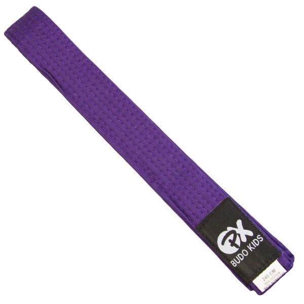 PX Budo Kids Softbelt, violett, 240cm