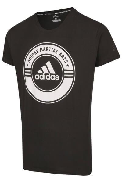 ADIDAS T-Shirt Combat Sport schwarz-weiß L