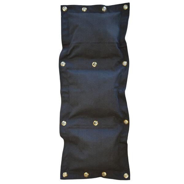 Wand-Schlagsack 3 Segmente, schwarz