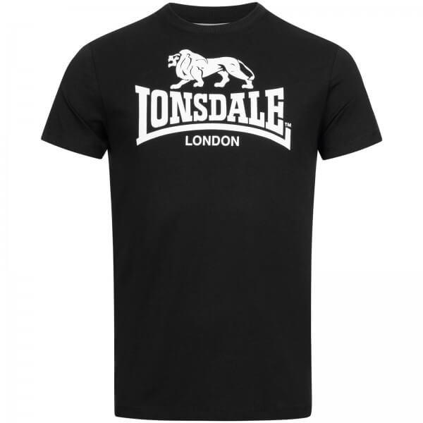 LONSDALE T-Shirt Herren ST. Erney Black