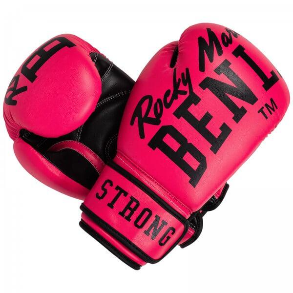 BENLEE Boxhandschuhe Chunky B Neon-Pink