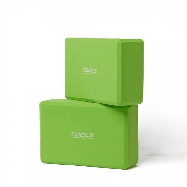 TOOLZ Yoga Block - 2pcs. (made of EVA Foam)