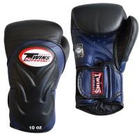 TWINS BGVL 6 Boxhandschuh schwarz-blau 10oz