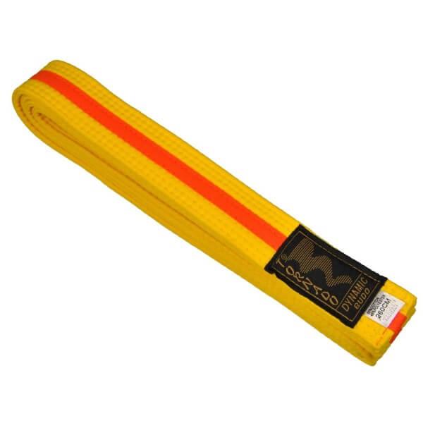 Budogürtel gelb-orange 220 cm