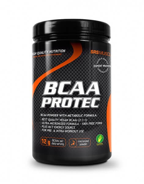 SRS Muscle BCAA PROTEC Pulver Kirsche