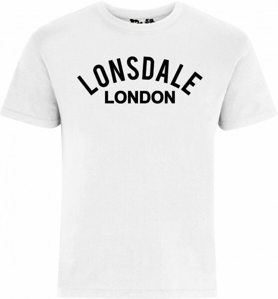 LONSDALE T-Shirt Herren Bradfield White