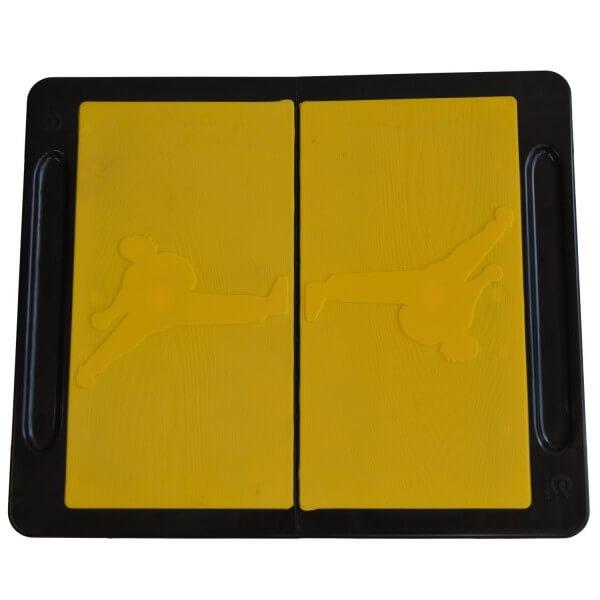 Bruchtestbretter CHAGI, gelb,Kunststoff, XS
