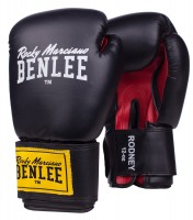 BENLEE Boxhandschuhe Rodney Schwarz/Rot