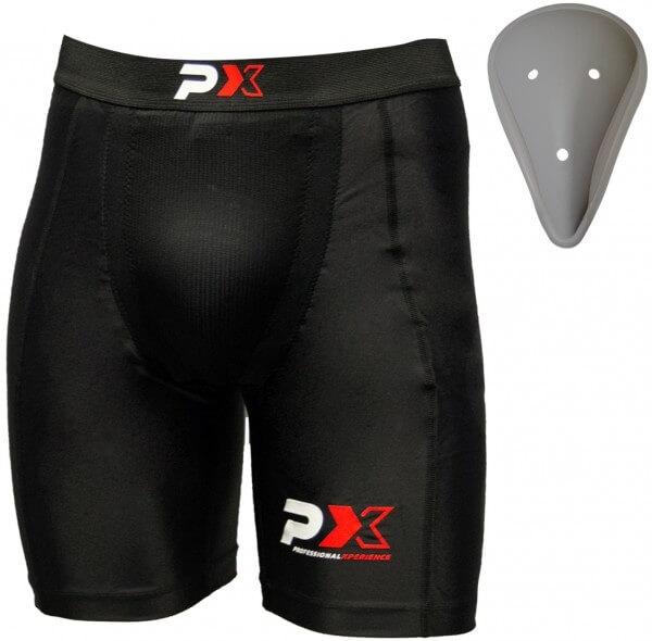 PHOENIX Compression Shorts mit Cup Tiefschutz