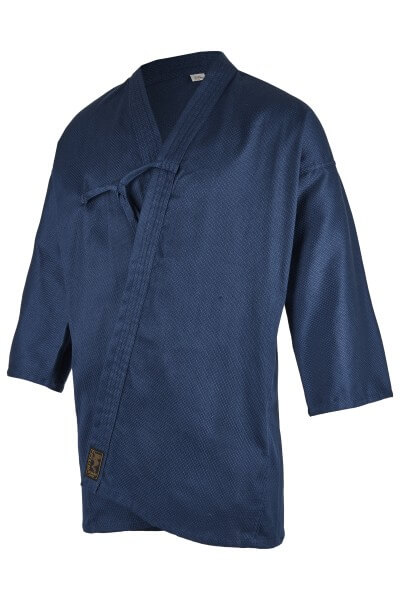 Kendo-Jacke blau