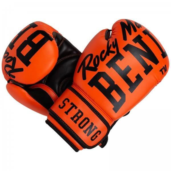 BENLEE Boxhandschuhe Chunky B Neon-Orange