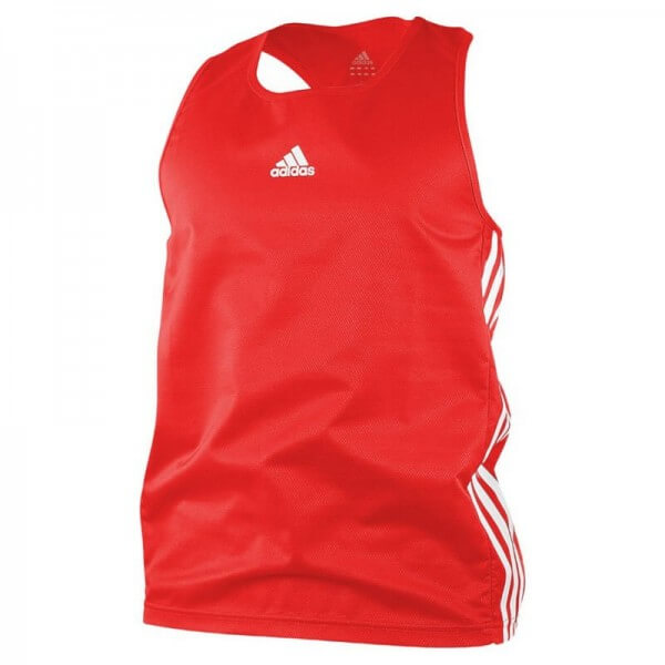 ADIDAS Boxing Top Punch Line red/white