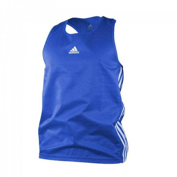 ADIDAS Boxing Top Punch Line blue/white