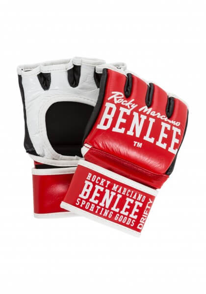 BENLEE MMA Handschuhe Leder Rot
