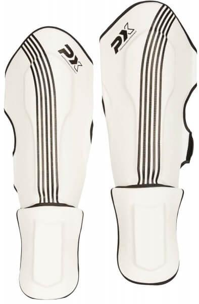 PX Schienbein-Spannschutz FIGHT PRO weiß-schwarz XXXS