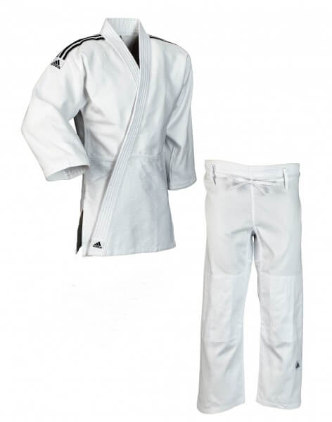 "ADIDAS Judo-Anzug J500 ""Training"" weiß"