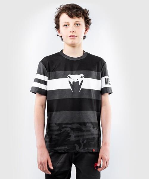 Venum Kids Bandit Dry Tech Shirt - schwarz/grau 8 Jahre
